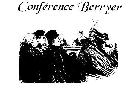 Conférence Berryer